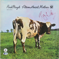"""Roger Waters Signed Pink Floyd """"Atom Heart Mother"""" Vinyl Record Album Cover (Beckett COA) at PristineAuction.com"""