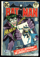 "Neal Adams Signed DC ""Batman"" #251 Comic Book (Beckett COA) at PristineAuction.com"