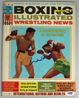 Muhammad Ali Signed 1965 Boxing Illustrated Magazine (PSA COA) at PristineAuction.com