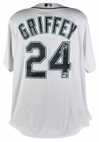 Ken Griffey Jr. Signed Mariners Jersey with 2016 Hall of Fame Induction Patch (Beckett COA & TriStar Hologram) at PristineAuction.com