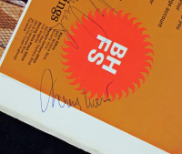 Wilt Chamberlain, Jerry West & Gail Goodrich Signed Lakers Illustrated Program (PSA COA) at PristineAuction.com