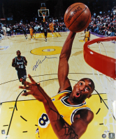 Kobe Bryant Signed LE Lakers 20x24 Photo (Super Star Greetings Hologram) at PristineAuction.com