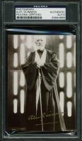 "Alec Guinness Signed ""Star Wars Episode IV: Return Of The Jedi"" 3.5x5 Photo (PSA Encapsulated) at PristineAuction.com"