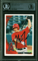 Mike Trout Signed 2010 Topps Pro Debut #181 (BGS Encapsulated) at PristineAuction.com