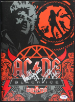 "Angus Young & Malcom Young Signed AC/DC 2008-09 ""Black Ice"" Program (PSA COA) at PristineAuction.com"