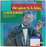 "B.B. King Signed ""The Great B.B. King"" Vinyl Record Album Cover (PSA COA) at PristineAuction.com"
