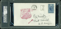 "Chester Nimitz Signed 1964 USS Snook FDC Envelope Inscribed ""Fleet Admiral, U.S. Navy"" (PSA Encapsulated) at PristineAuction.com"