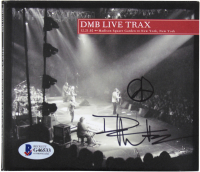 """Dave Matthews Signed Dave Matthews Band """"DMB Live Trax"""" CD Cover (Beckett COA) at PristineAuction.com"""