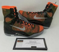 Kobe Bryant Signed Pair of Nike Kobe Elite IX Basketball Shoes (Panini COA) at PristineAuction.com