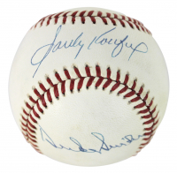 Sandy Koufax & Duke Snider Signed ONL Baseball (PSA LOA) at PristineAuction.com