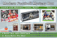 Cardboard Hits Modern Series 6 Mystery Box - Football Edition at PristineAuction.com