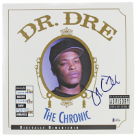 "Dr. Dre Signed ""The Chronic"" Vinyl Record Album Cover (Beckett LOA) at PristineAuction.com"