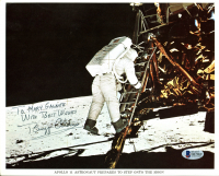 "Buzz Aldrin Signed NASA 8x10 Photo Inscribed ""With Best Wishes"" (Beckett COA) at PristineAuction.com"