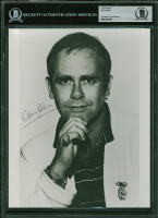 Elton John Signed 8x10 Photo (BGS Encapsulated) at PristineAuction.com