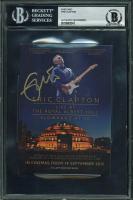 Eric Clapton Signed 4x6 Postcard (BAS Encapsulated) at PristineAuction.com