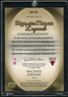 Michael Jordan 2005-06 SP Authentic Sign of the Times Legends #MJ at PristineAuction.com