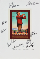 """Lexus Challenge"" 14x20.75 Golf Poster Signed by (9) with Arnold Palmer, Gary Player, Jack Nicklaus (Beckett LOA) at PristineAuction.com"