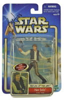 "Harrison Ford Signed ""Star Wars: Return of the Jedi"" Han Solo Action Figure in Original Packaging (PSA LOA) at PristineAuction.com"