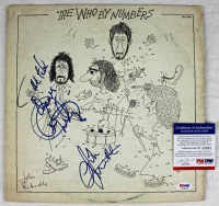 """Roger Daltrey & John Entwistle Signed The Who """"By Numbers"""" Vinyl Record Album Cover (PSA COA) at PristineAuction.com"""
