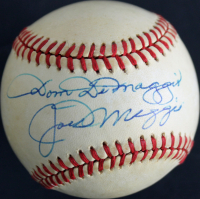 Joe DiMaggio & Dom DiMaggio Signed OAL Baseball (JSA LOA) at PristineAuction.com