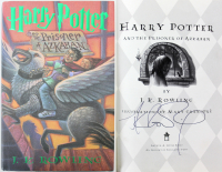 "J. K. Rowling Signed ""Harry Potter & the Prisoner of Azkaban"" First Edition Hardcover Book (JSA LOA) at PristineAuction.com"