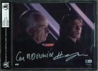 "Ian McDiarmid & Hayden Christensen Signed ""Star Wars"" 8x10 Photo (BGS Encapsulated & Star Wars Authentics Hologram) at PristineAuction.com"