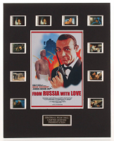 """From Russia with Love"" LE 8x10 Custom Matted Original Film Cell Display at PristineAuction.com"