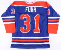 Grant Fuhr Signed Jersey (JSA COA) at PristineAuction.com