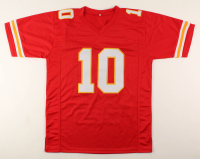 Tyreek Hill Signed Highlight Stat Jersey (JSA COA) at PristineAuction.com