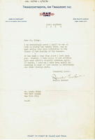 Amelia Earhart Signed 1930 Transcontinental Air Letter (PSA LOA) at PristineAuction.com