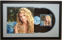 Taylor Swift Signed 18x28 Custom Framed CD Cover Display (JSA COA) at PristineAuction.com