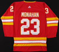 Sean Monahan Signed Flames Jersey (JSA COA) at PristineAuction.com