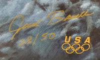 """Jesse Barnes Signed """"Illuminating the Olympic Spirit"""" 24x36 Limited Edition Giclee on Canvas (Barnes COA) at PristineAuction.com"""