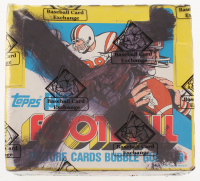 1983 Topps Football Cello Box (BBCE Certified) at PristineAuction.com