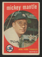 Mickey Mantle 1960 Topps #350 at PristineAuction.com