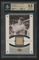 Babe Ruth 2005 Sweet Spot Classic Materials #CMBR Pants (BGS 9.5) at PristineAuction.com
