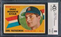 Carl Yastrzemski 1960 Topps #148 RS RC (BCCG 8) at PristineAuction.com
