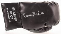 Carmen Basilio Signed Boxing Glove (JSA COA) at PristineAuction.com