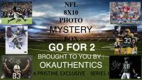 OKAUTHENTICS Go For 2 Football 8x10 Mystery Box (Series I) at PristineAuction.com