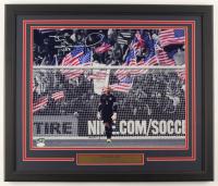 "Tim Howard Signed Team USA 22x26 Custom Framed Photo Display Inscribed ""USA"" (JSA COA) at PristineAuction.com"