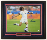 Alex Morgan Signed Team USA 22x26 Custom Framed Photo Display (JSA COA) at PristineAuction.com
