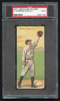 1911 Mecca Double Folders T201 #46 Terry Turner / George Stovall (PSA 5) at PristineAuction.com