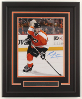 Sean Couturier Signed Flyers 18.5x22.5 Custom Framed Photo Display (JSA COA) at PristineAuction.com