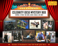 Press Pass Collectibles 2020 Celebrity 8x10 Mystery Box – Series 3 (Limited to 50) at PristineAuction.com