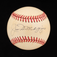 Joe DiMaggio Signed OAL Baseball (PSA LOA) at PristineAuction.com