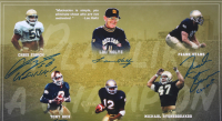 """1988 Notre Dame Fighting Irish 16x20 Photo Signed by (6) with Lou Holtz, Ricky Watters, Tony Rice, Frank Stams, Chris Zorich Inscribed """"Co-MVP"""", """"Go Irish!"""" & """"88 National Champs"""" (PSA LOA) at PristineAuction.com"""