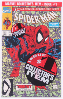 "1990 ""Spider-Man: Torment"" Vol. 1 Issue #1 Green Polybagged Edition Marvel Comic Book at PristineAuction.com"