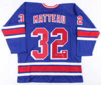 "Stephane Matteau Signed Jersey Inscribed ""94 Cup"" (JSA COA) at PristineAuction.com"