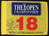 "Tony Jacklin Signed The Open Championship Golf Pin Flag Inscribed ""1969 Champion"" (Beckett COA) at PristineAuction.com"