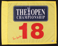 Todd Hamilton Signed The Open Championship Golf Pin Flag (Beckett COA) at PristineAuction.com